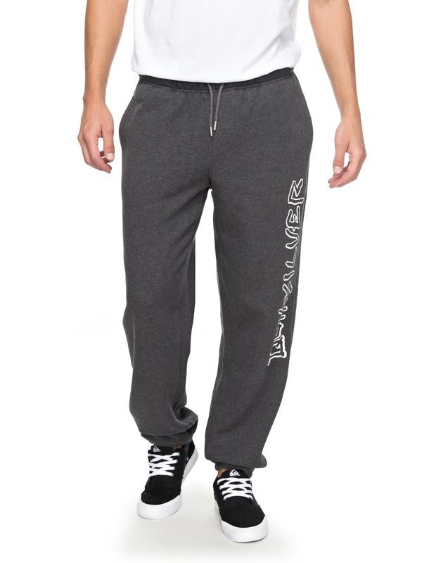 0 Quiksilver - Pantalon de jogging Noir EQYFB03137 Quiksilver