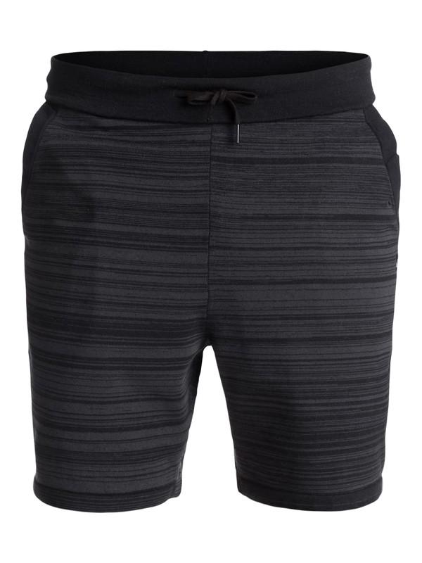 0 Highland - Short en molleton technique Noir EQYFB03138 Quiksilver