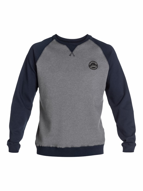 0 Basalt Crew Pullover Sweatshirt  EQYFT03010 Quiksilver