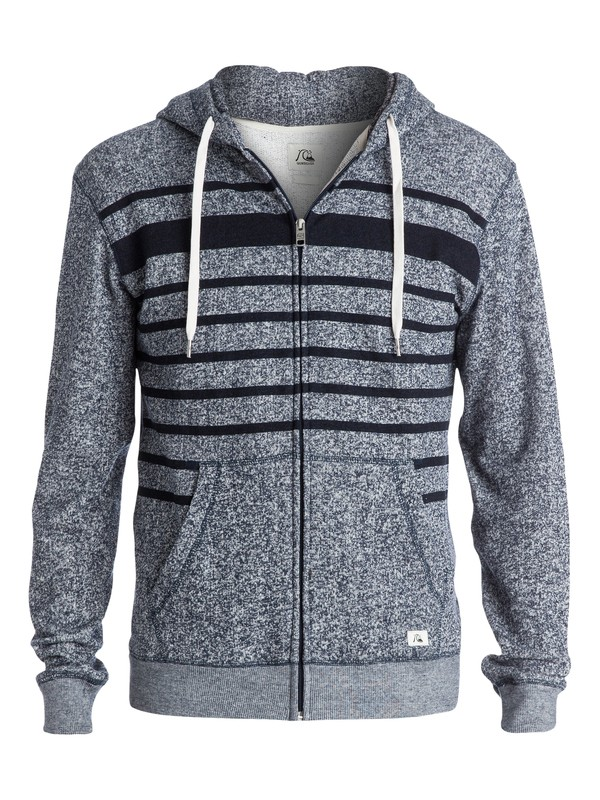 0 Major Stripes Zip-Up Hoodie  EQYFT03170 Quiksilver
