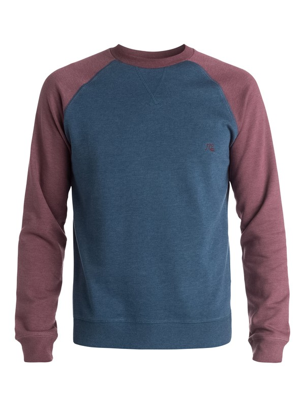 0 Major Block Crew - Sweatshirt  EQYFT03187 Quiksilver