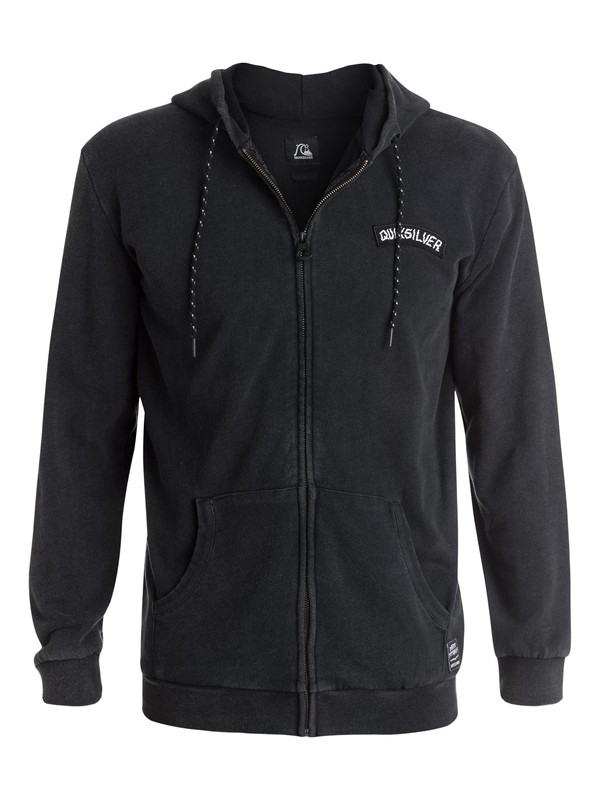0 Black Night Zip-Up Hoodie  EQYFT03196 Quiksilver