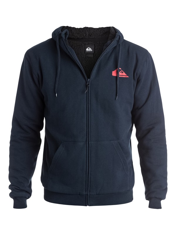 0 Everyday Sherpa - Sweat doublée à capuche zippé  EQYFT03207 Quiksilver