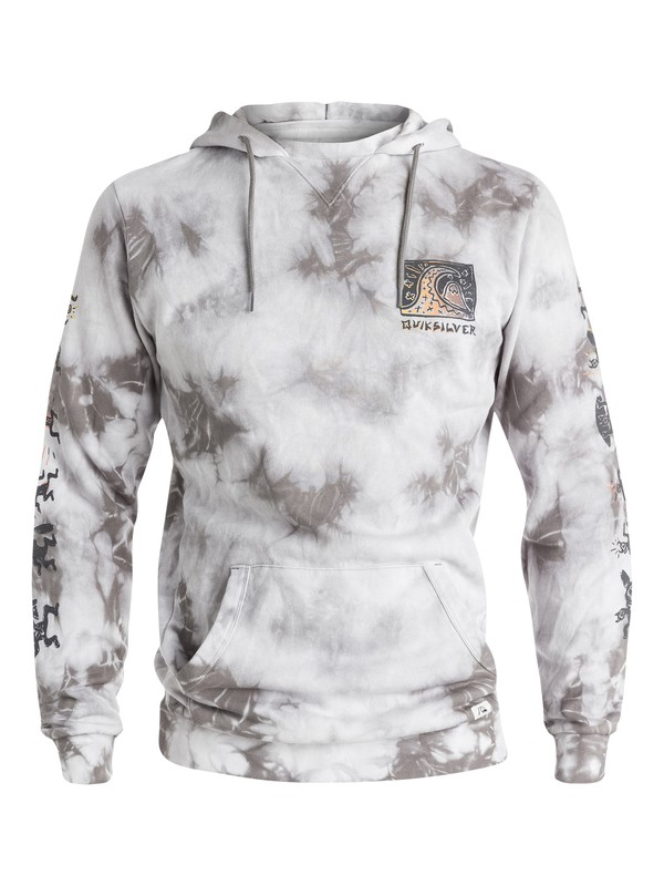 0 War Paint Tie Dyed Pullover Fleece  EQYFT03227 Quiksilver