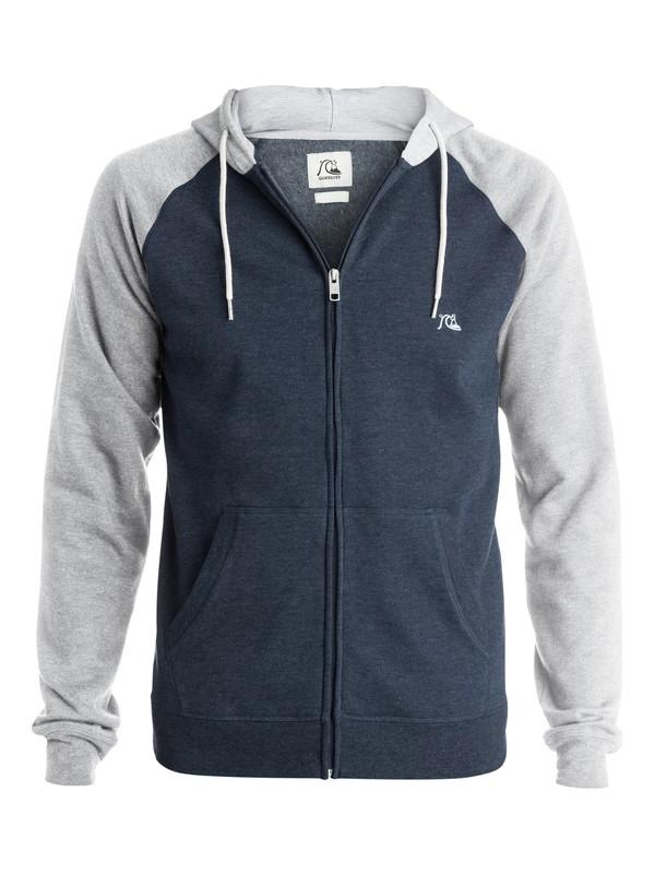 0 Major Block Zip - Up Sweatshirt  EQYFT03242 Quiksilver