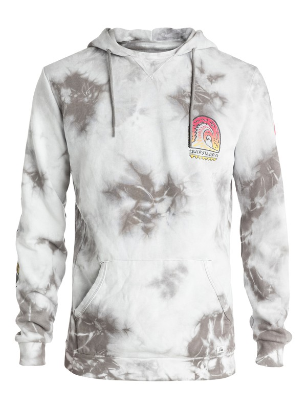 0 Shrine Tie And Dyed Pullover Hoodie  EQYFT03266 Quiksilver