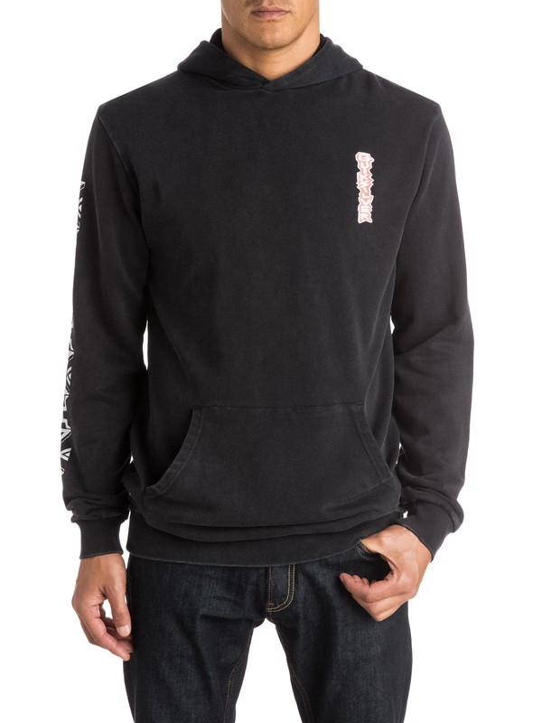 0 Totem Pullover Hoodie  EQYFT03270 Quiksilver