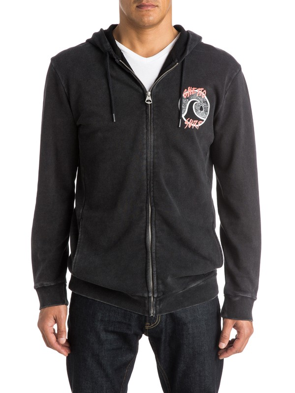 0 Ghetto Surf Zip-Up Hoodie  EQYFT03271 Quiksilver