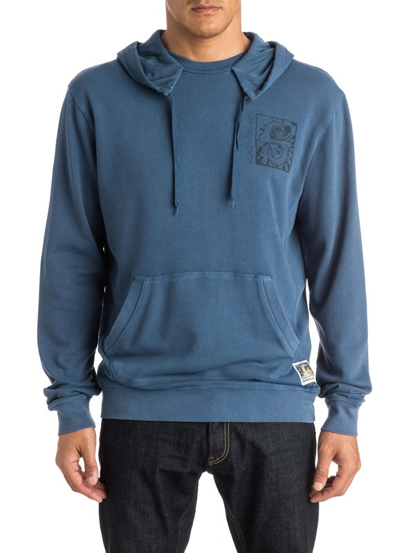 0 White Light Pullover Hoodie  EQYFT03274 Quiksilver