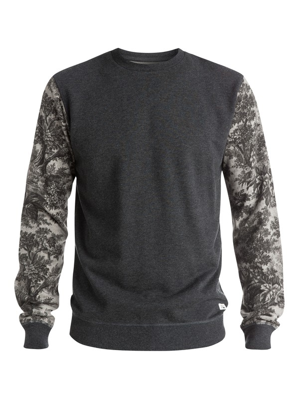 0 Highway Coast Sweatshirt Black EQYFT03341 Quiksilver