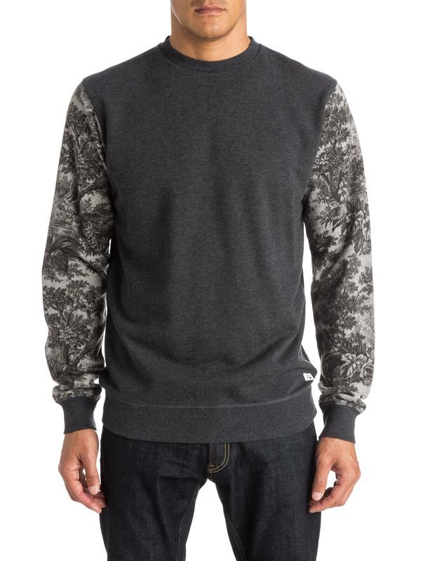 0 Highway Coast Sweatshirt Black EQYFT03341 Quiksilver