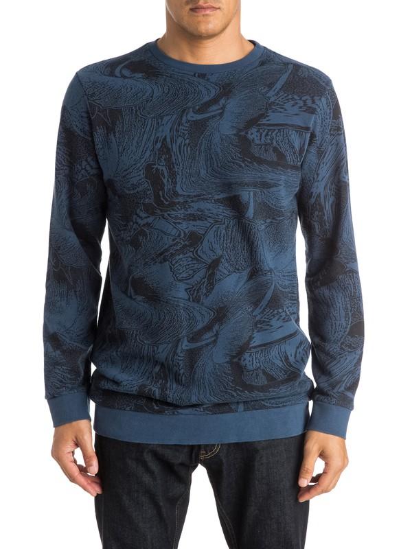 0 Dark Trip Crew Sweatshirt  EQYFT03345 Quiksilver