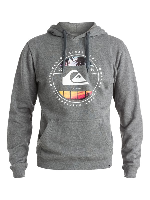 0 Between The Lines - Sweat à capuche  EQYFT03359 Quiksilver