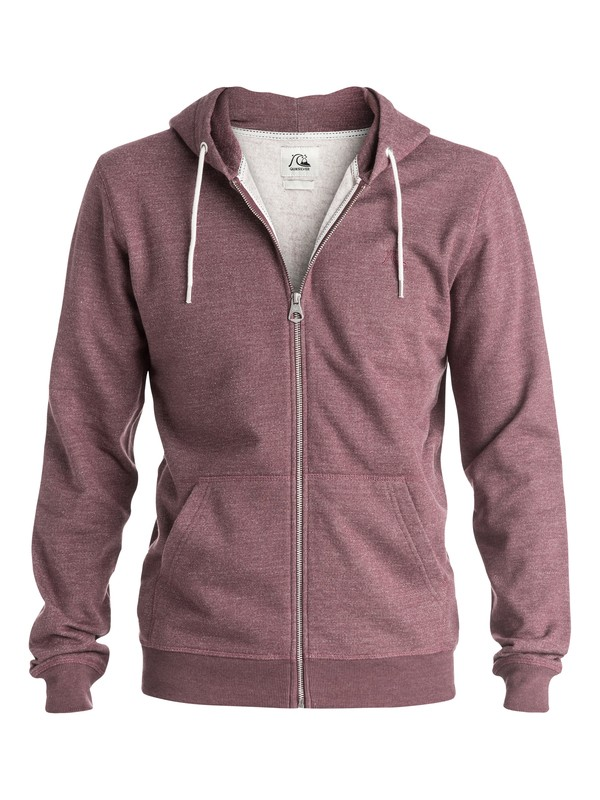 0 Major Heather Zip - Sweat à capuche zipé  EQYFT03365 Quiksilver