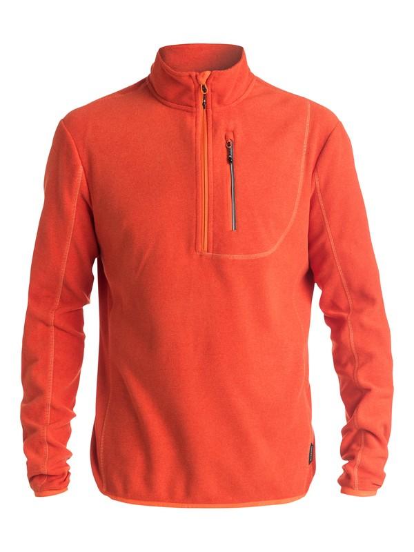 0 Cosmic - Deuxième couche thermique à demi zip Polartec® Orange EQYFT03370 Quiksilver