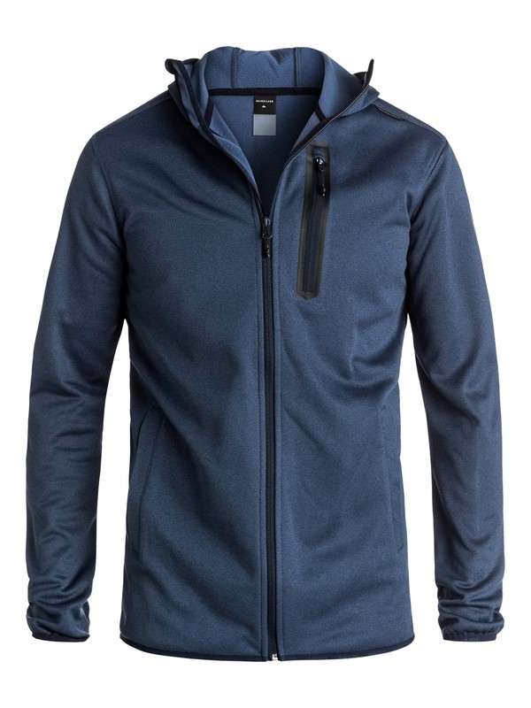 0 Pioneer Zip-Up Riding Hoodie  EQYFT03389 Quiksilver