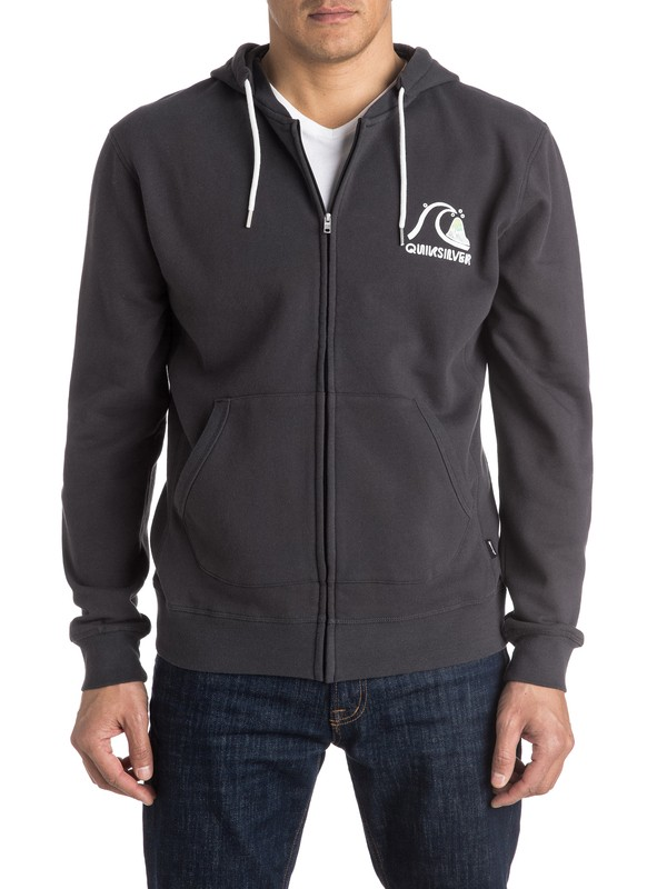 0 Bubble Zip-Up Hoodie  EQYFT03426 Quiksilver