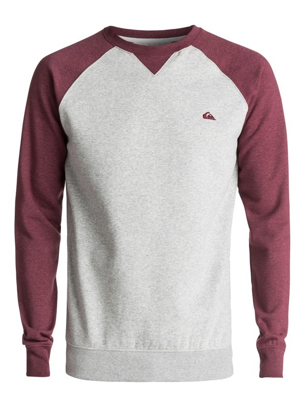 0 Everyday - Sweat Gris EQYFT03427 Quiksilver