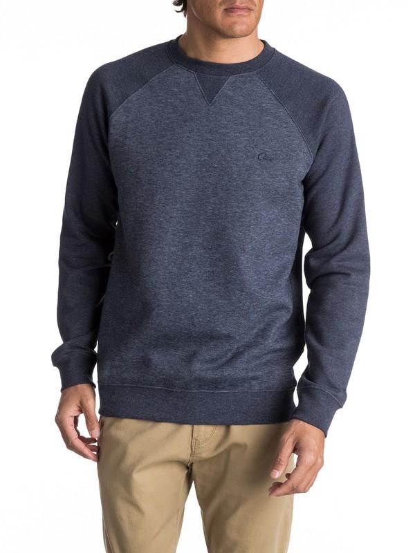 0 Everyday Sweatshirt Blue EQYFT03427 Quiksilver