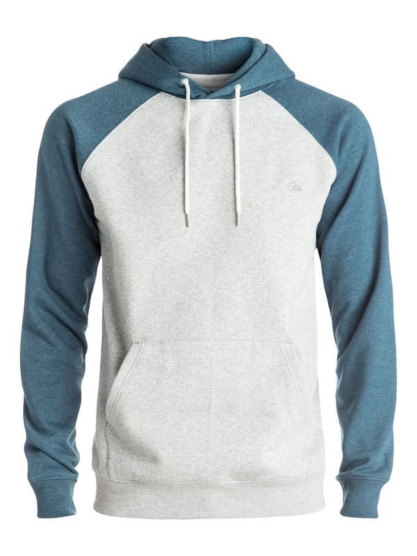 0 Everyday - Sweat à capuche Bleu EQYFT03428 Quiksilver