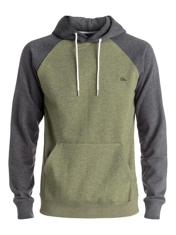 0 Everyday Sweatshirt Green EQYFT03428 Quiksilver
