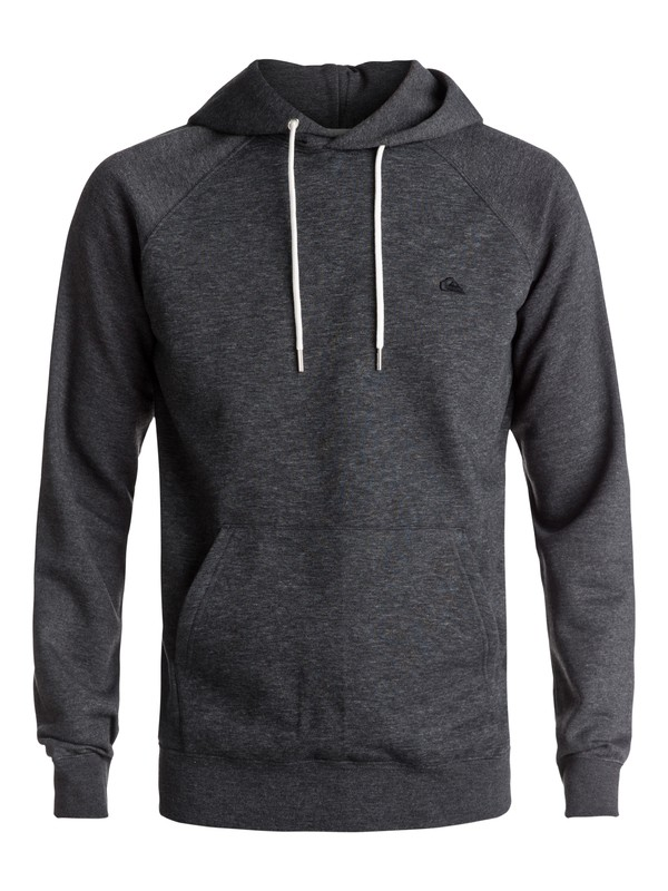 0 Everyday - Sweat à capuche Noir EQYFT03428 Quiksilver