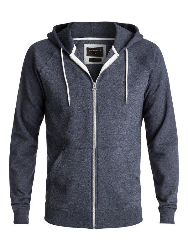 0 Everyday Zip-Up Hoodie Blue EQYFT03429 Quiksilver
