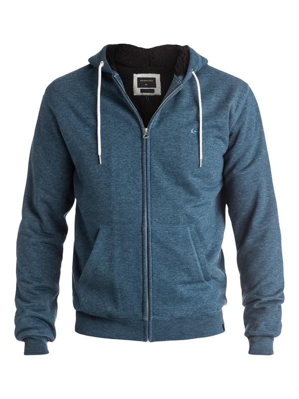 0 Epic Outback Sherpa - Sweat à capuche zippé Bleu EQYFT03430 Quiksilver