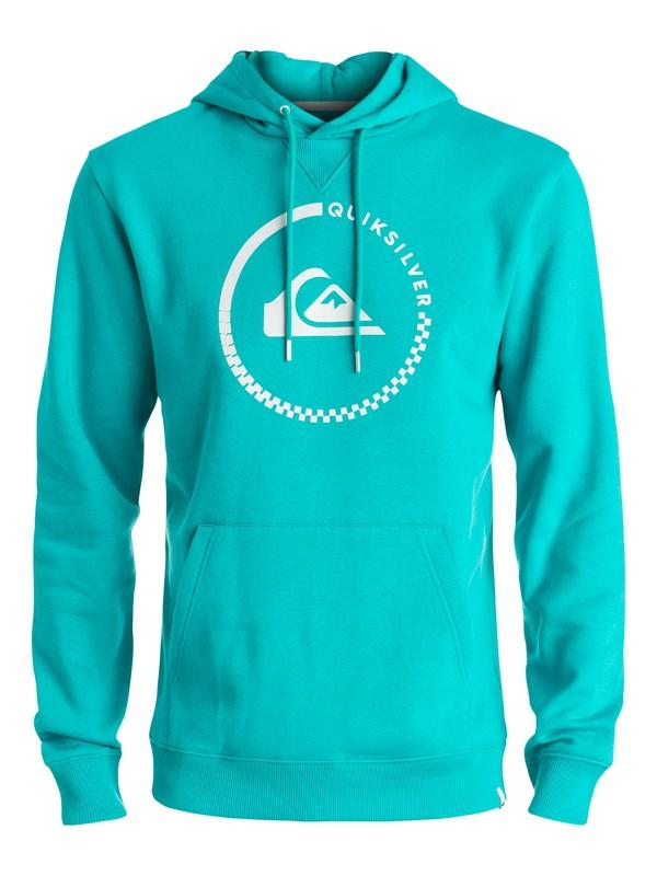 0 Big Logo - Sweat à capuche Bleu EQYFT03432 Quiksilver