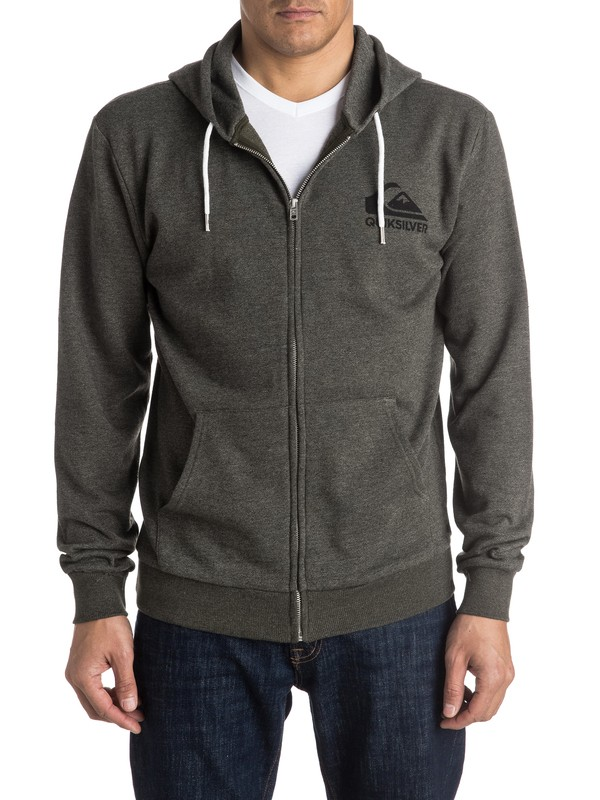 0 Jungle Forest Zip-Up Hoodie  EQYFT03434 Quiksilver