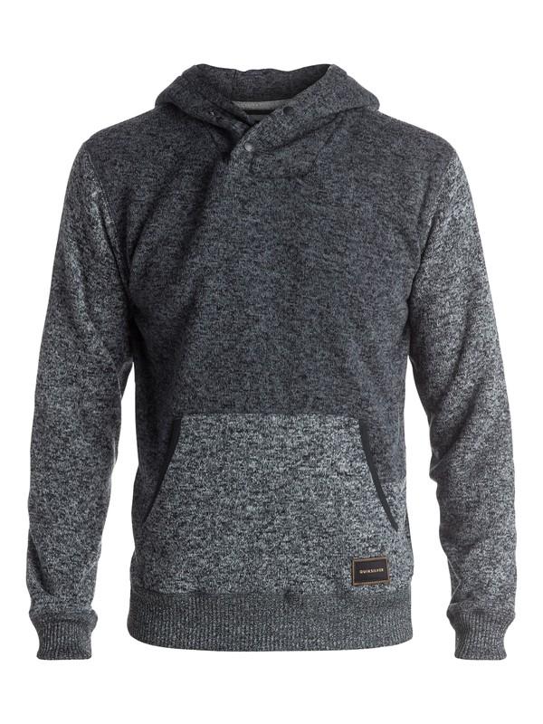 0 Keller - Sweat à capuche Noir EQYFT03436 Quiksilver