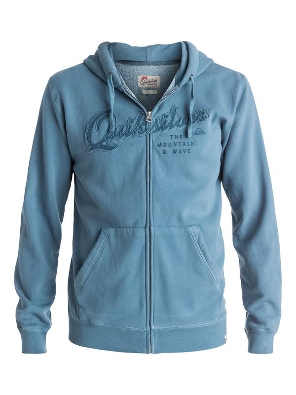 0 Home Front - Sweat à capuche zippé Bleu EQYFT03440 Quiksilver
