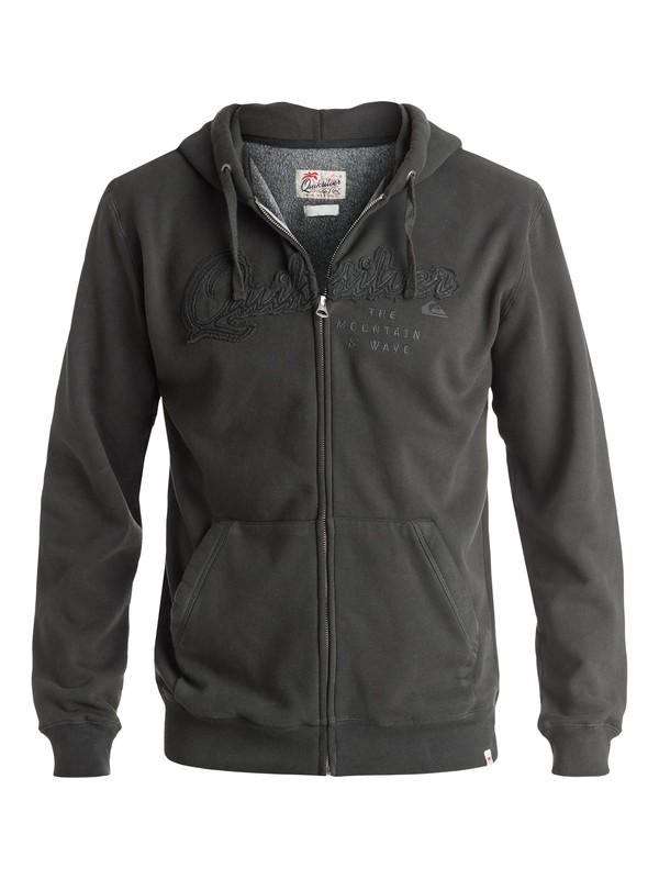0 Home Front - Sweat à capuche zippé Noir EQYFT03440 Quiksilver