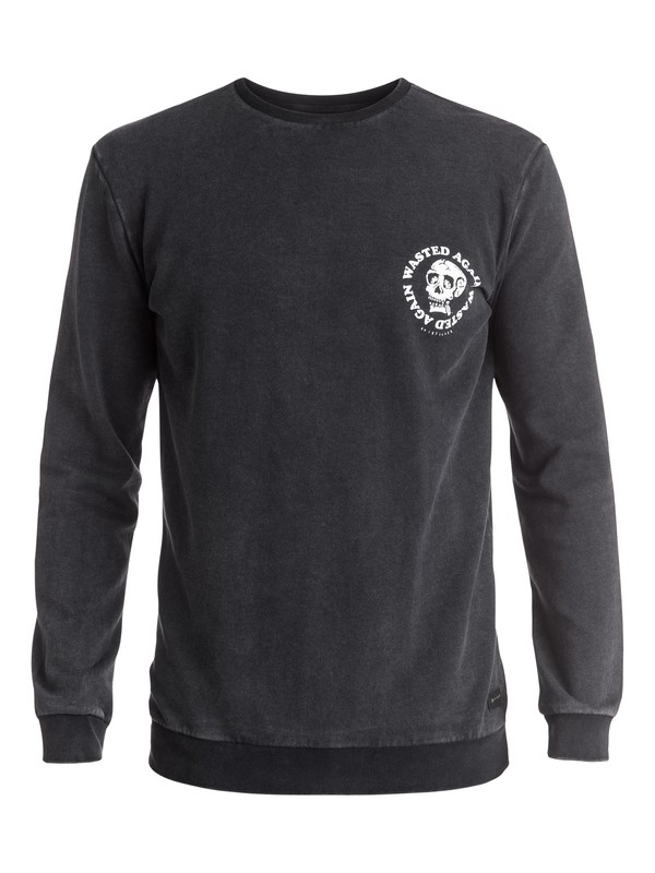 0 Wasting Time - Sweat  EQYFT03446 Quiksilver