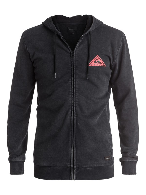 0 Born Bad - Sweat à capuche zippé  EQYFT03456 Quiksilver