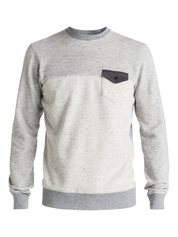 0 Gone Bad - Sweat Gris EQYFT03459 Quiksilver