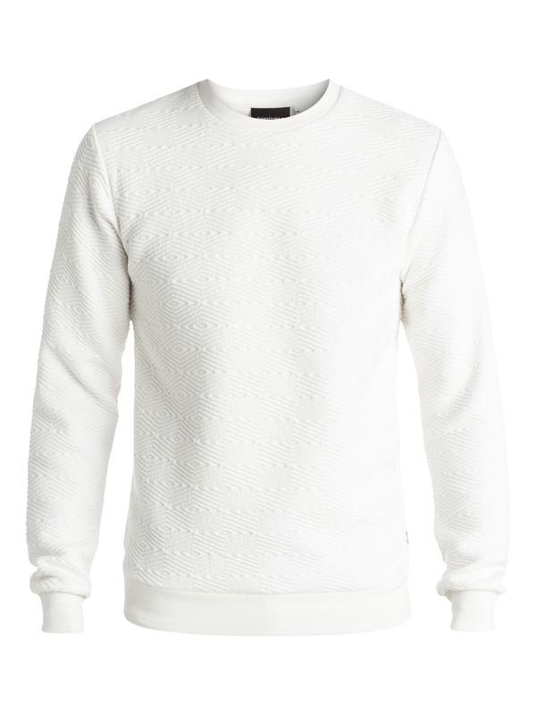 0 Up For Grabs - Sweat matelassé Blanc EQYFT03461 Quiksilver