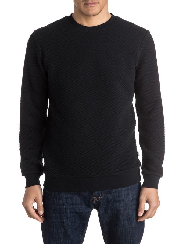 0 Up For Grabs Quilted Sweatshirt  EQYFT03461 Quiksilver