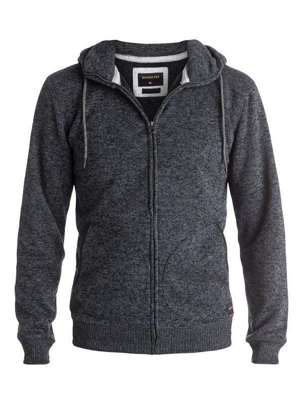 0 Keller - Sweat à capuche zippé Noir EQYFT03462 Quiksilver
