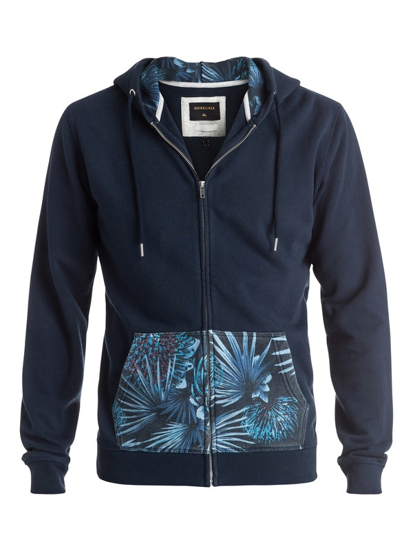 0 Decided Fate - Sweat à capuche zippé  EQYFT03475 Quiksilver