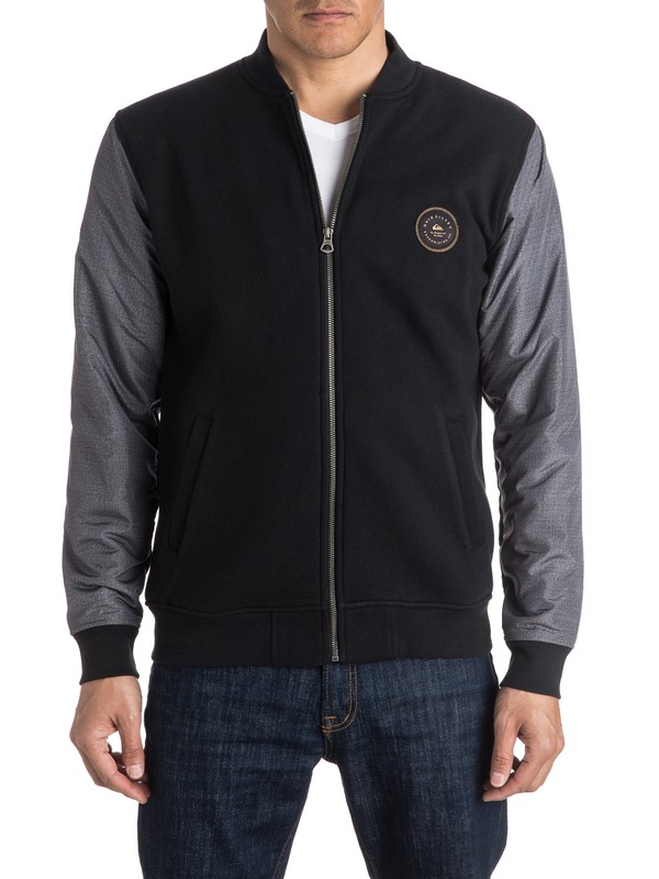 0 Carbon Cycle Bomber Jacket  EQYFT03518 Quiksilver