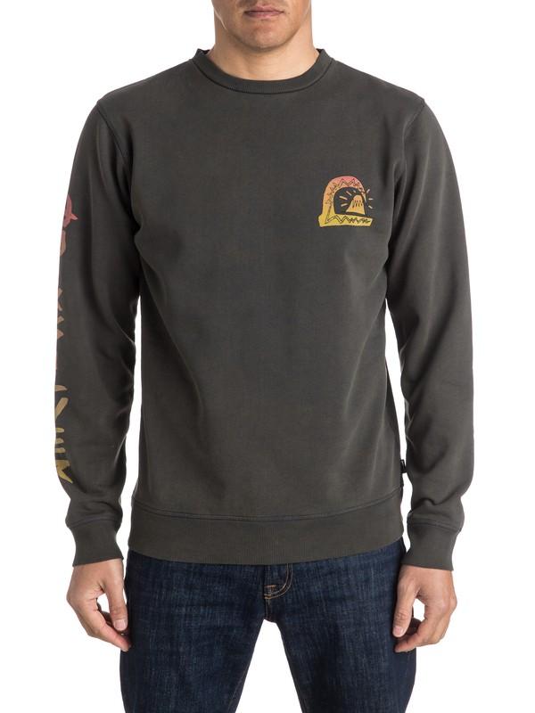 0 Never Say Die Sweatshirt  EQYFT03521 Quiksilver