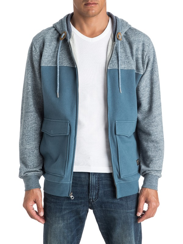 0 Civil Aire - Sweat à capuche zippé  EQYFT03542 Quiksilver
