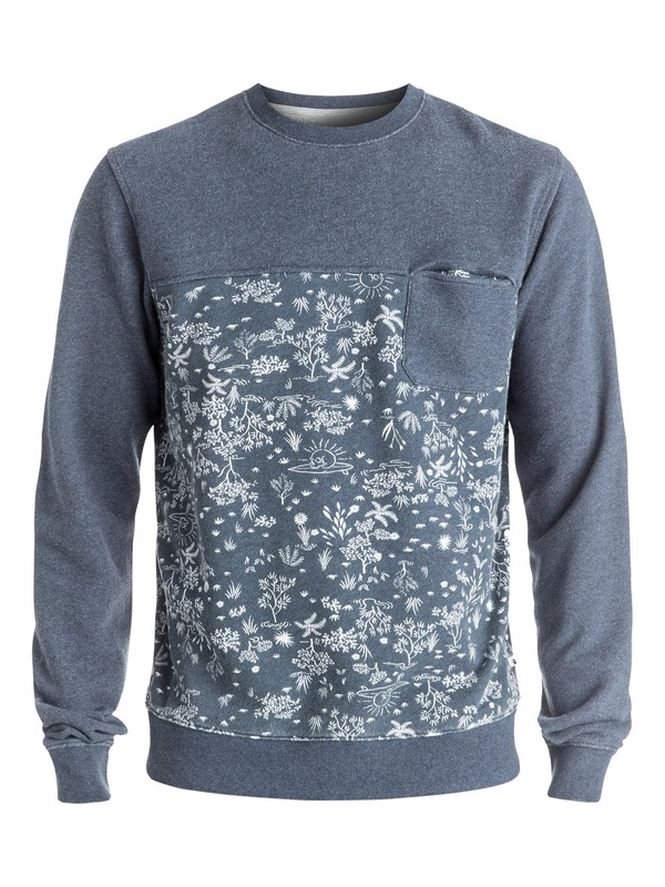 0 Cyclops - Sweat Bleu EQYFT03548 Quiksilver
