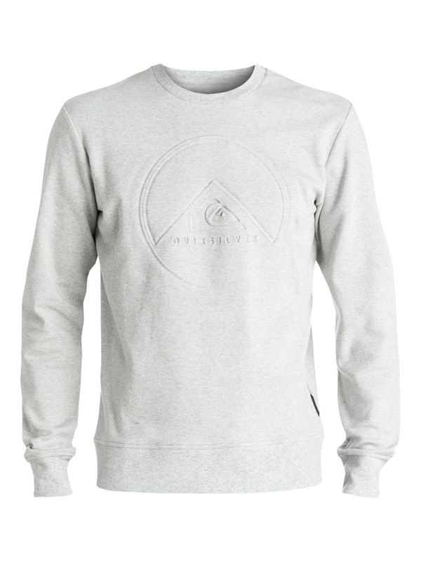 0 Ohsee - Sweat Gris EQYFT03549 Quiksilver