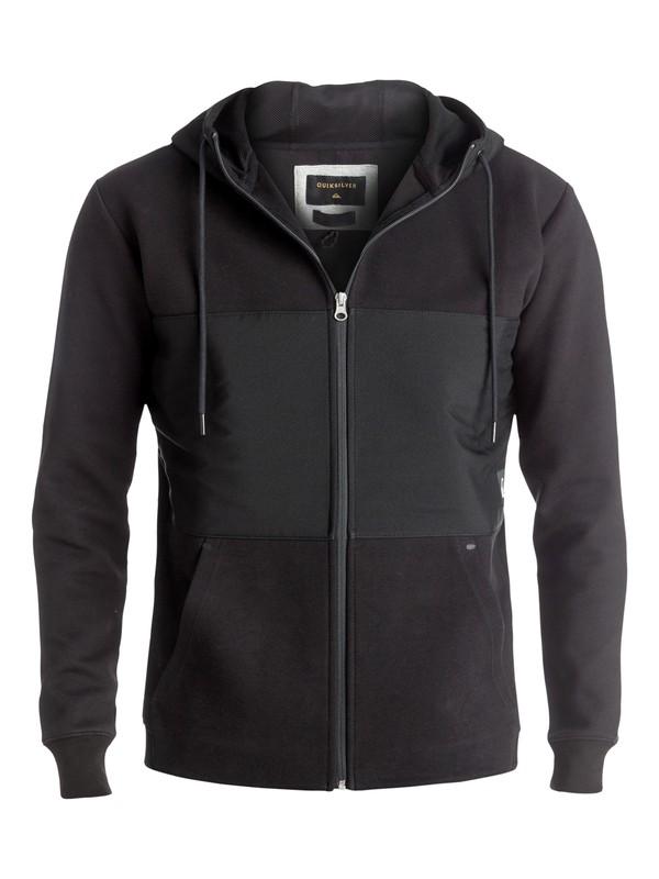 0 Highland Gaze - Sweat à capuche zippé Noir EQYFT03554 Quiksilver