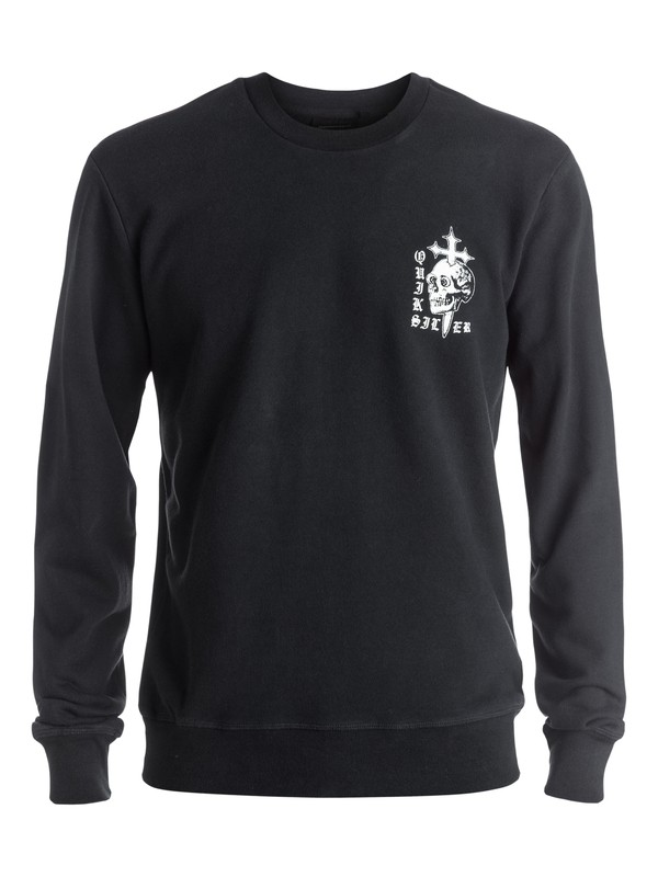 0 Skull Cross - Sweat Noir EQYFT03576 Quiksilver