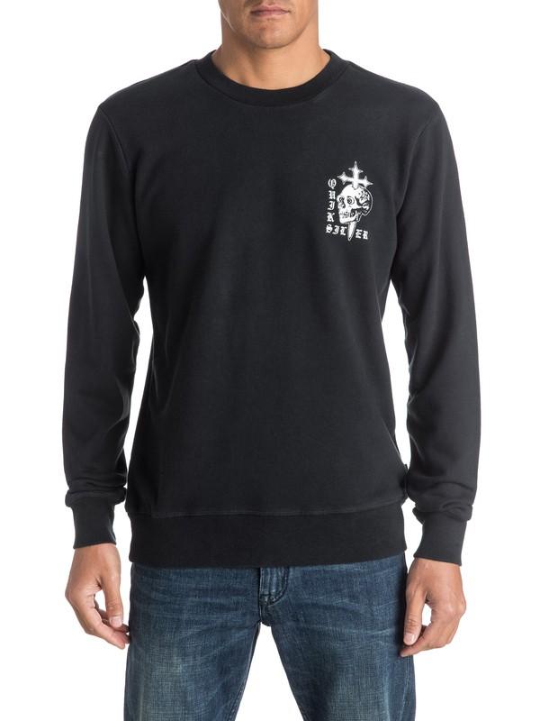 0 Skull Cross Sweatshirt  EQYFT03576 Quiksilver