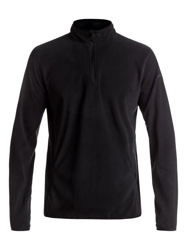 0 Aker Half-Zip Technical Fleece Black EQYFT03629 Quiksilver