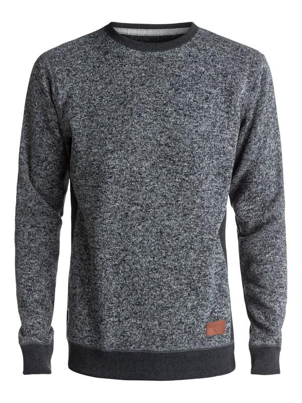 0 Keller - Polar Fleece Sweatshirt Black EQYFT03659 Quiksilver